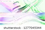 abstract vector background dot... | Shutterstock .eps vector #1277045344