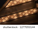 looking up from the sidewalk at ... | Shutterstock . vector #1277053144