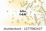 modern christmas tinsel... | Shutterstock .eps vector #1277082427