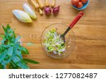 vegetables on a table board ...   Shutterstock . vector #1277082487
