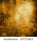 Bronze Color Grunge Steined ...