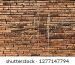 brick texture  brick wall   Shutterstock . vector #1277147794