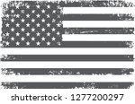 old flag of united states... | Shutterstock .eps vector #1277200297