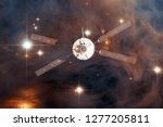 spacecraft launch into space.... | Shutterstock . vector #1277205811