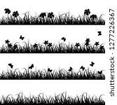 border in black color ... | Shutterstock .eps vector #1277226367