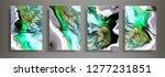 modern design a4.abstract... | Shutterstock .eps vector #1277231851