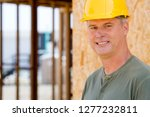 portrait of construction worker ... | Shutterstock . vector #1277232811