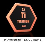 titanium chemical element... | Shutterstock . vector #1277240041