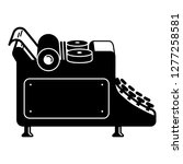 editorial typewriter icon.... | Shutterstock .eps vector #1277258581