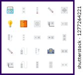 25 switch icon. vector... | Shutterstock .eps vector #1277264221