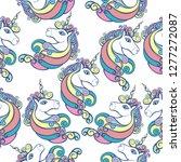 unicorn vector illustration...   Shutterstock .eps vector #1277272087