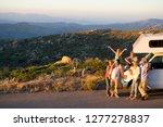 multi generation family... | Shutterstock . vector #1277278837