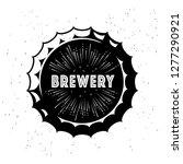 vintage craft beer logo and...   Shutterstock .eps vector #1277290921