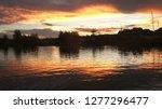 spectacular sundown in paradise   Shutterstock . vector #1277296477