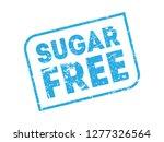sugar free vector stamp   Shutterstock .eps vector #1277326564