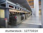 empty airport check in | Shutterstock . vector #12773314