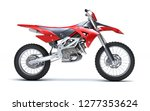 3d illustration of red glossy... | Shutterstock . vector #1277353624