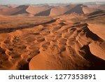aerial view  namib desert ... | Shutterstock . vector #1277353891