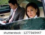 businessman and businesswoman... | Shutterstock . vector #1277365447
