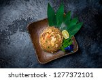 fried rice with seafood | Shutterstock . vector #1277372101