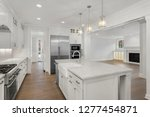 kitchen and living room in new... | Shutterstock . vector #1277454871