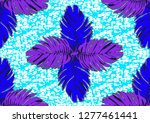textile fashion  african print... | Shutterstock .eps vector #1277461441