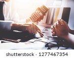 partnership and businessman... | Shutterstock . vector #1277467354