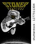 stone rock festival gig poster...   Shutterstock .eps vector #1277511304