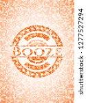 booze abstract emblem  orange...   Shutterstock .eps vector #1277527294