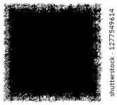 grunge black and white vector... | Shutterstock .eps vector #1277549614