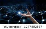 connection technologies... | Shutterstock . vector #1277552587