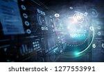 media technologies in business. ...   Shutterstock . vector #1277553991