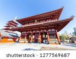 asakusa  taito  tokyo  japan... | Shutterstock . vector #1277569687