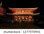 asakusa  taito  tokyo  japan... | Shutterstock . vector #1277570941
