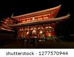 asakusa  taito  tokyo  japan... | Shutterstock . vector #1277570944