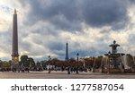 paris  france   october 25 ... | Shutterstock . vector #1277587054