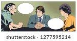 stock illustration. man and...   Shutterstock .eps vector #1277595214
