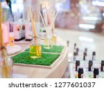 close up bottle perfume at... | Shutterstock . vector #1277601037