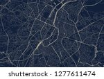 vector map of the city of... | Shutterstock .eps vector #1277611474