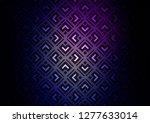 dark purple  blue vector... | Shutterstock .eps vector #1277633014