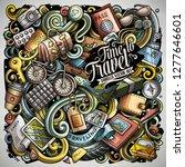 travel hand drawn vector...   Shutterstock .eps vector #1277646601
