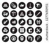 25 vector icon set   floor ... | Shutterstock .eps vector #1277650951