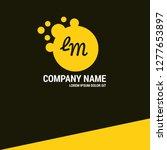 letter lm logo concept....