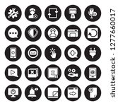 25 vector icon set   repair... | Shutterstock .eps vector #1277660017
