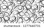 vector seamless pattern of... | Shutterstock .eps vector #1277660731