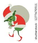 Green Christmas Monster Stolen...