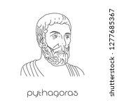 Portrait Of Ancient Greek...