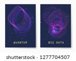 quantum technology concept....   Shutterstock .eps vector #1277704507