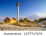 landscape with sea lighthouse... | Shutterstock . vector #1277717674