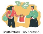 vector cartoon illustation of... | Shutterstock .eps vector #1277735014